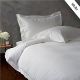 800 Thread Count 100% Egyptian Cotton 1PC QUEEN Duvet Cover with Zipper Closure - Solid White
