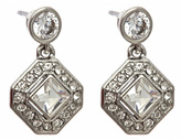 Carolee Crystal Diamond Drop Earrings