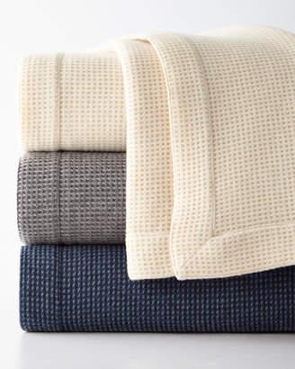 Sferra Merino Wool Waffle Knit Full/Queen Blanket