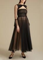 KHAITE The Jean Dress in Black