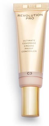 Revolution Pro Ultimate Coverage Crease Proof Concealer 12G C3