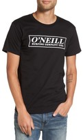 O'Neill Men's Teamster Logo Graphic T-Shirt