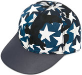 Valentino Garavani star camouflage cap - men - Cotton/Calf Leather/Acrylic/Polyamide - One Size