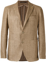 Tagliatore two-button blazer - men - Cotton/Linen/Flax/Cupro - 48