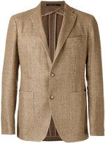 Tagliatore two-button blazer - men - Cotton/Linen/Flax/Cupro - 48