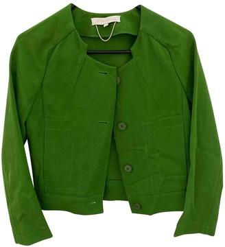 Vanessa Bruno Green Cotton Jacket for Women