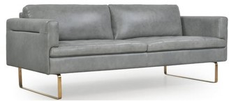 Everly Gillham Leather Sofa Quinn
