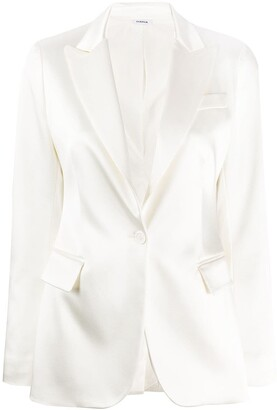 P.A.R.O.S.H. Tailored Satin Blazer