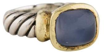 David Yurman Chalcedony Noblesse Ring