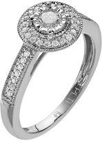 Diamond essentials platilite 1/3-ct. t.w. diamond promise ring