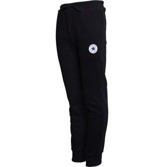 Converse Junior Boys Fleece Chuck Patch Joggers Black