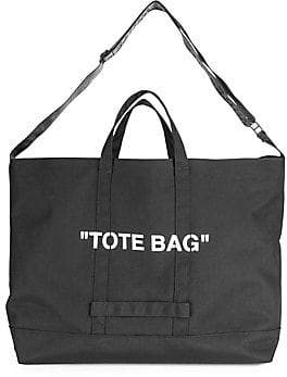 aded393cf857 at Saks Fifth Avenue · Off-White Men's Quote Tote Bag