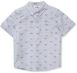 M&Co Striped dinosaur shirt (9mths-5yrs)
