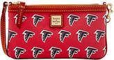 Dooney & Bourke NFL Falcons Large Slim Wristlet