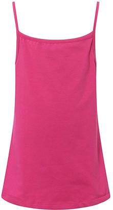 Richie House Girls' Tee Shirts Dark - Dark Fuchsia Camisole - Toddler & Girls