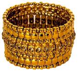 Philippe Audibert Gold-Plated Swarovski Bracelet