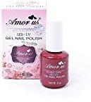 Amor Us Soak Off LED/UV Gel Nail Polish 15ml 0.5 oz,3Pcs #101
