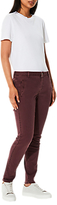 Selected Ingrid Chino Trousers, Mauve Wine