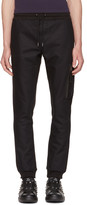 Diesel Black Gold Black Skinny Zip Lounge Pants