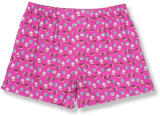 Tie Bar Coffee And Donuts Azalea Boxer