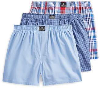 Ralph Lauren Cotton Boxer 3-Pack