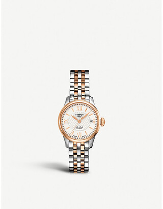 Tissot T41.2.183.33 Le Locle rose gold-plated and stainless steel watch