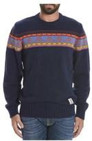 Franklin & Marshall Men's Blue Viscose Sweater.