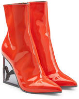 FENTY PUMA by Rihanna Patent Leather Ankle Boots