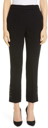 Max Mara Nerina Button Cuff Ankle Pants