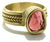 Lori Kaplan Jewelry - 10K Gold Pink Tourmaline Ring