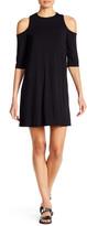 Bobeau Cold Shoulder Dress
