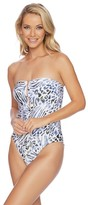 Luxe by Lisa Vogel Prowl Bandeau Maillot