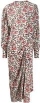 Isabel Marant floral printed maxi dress