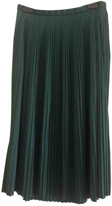 Benetton Green Skirt for Women