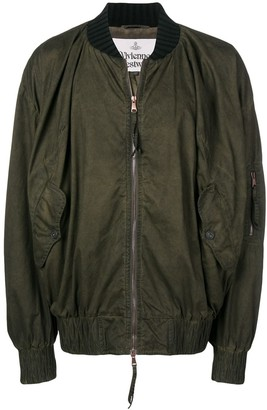 Vivienne Westwood Oversized Bomber Jacket