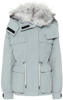 Yves Salomon Army fur-trimmed down parka