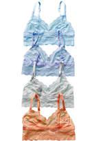 B.Tempt'd B Tempt'd Set Of 4 Lace Bralettes