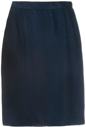 Valentino Pre-Owned 1980's Straight Mini Skirt