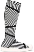 adidas 'Superstar Primeknit' high boots - women - Cotton/Neoprene/rubber - 5