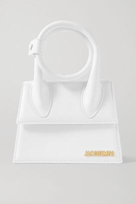 Jacquemus Le Chiquito Noeud Leather Shoulder Bag