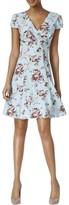 Betsey Johnson Women's Chiffon Crepe Fit & Flare Dress