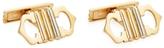 Cartier Women's Vintage 18K Tri-Tone Gold Cufflinks
