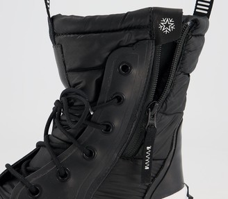 Converse Mc Boots Black Black White