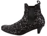 Comme des Garcons Sequined Ankle Boots