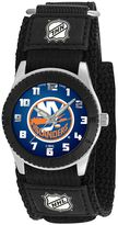 Game Time Rookie Series New York Islanders Silver Tone Watch - NHL-ROB-NYI - Kids