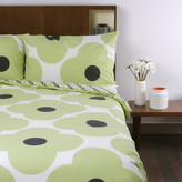Orla Kiely Giant Flower Spot Print Duvet Cover - Pistachio - Super King