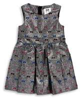 Milly Little Girl's Printed Pleated Dress