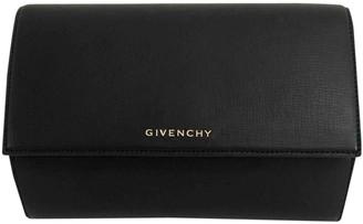 Givenchy Pandora Box Black Leather Clutch bags