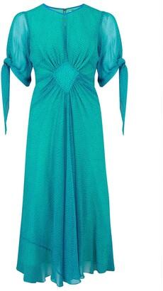 Libelula Tiljess Dress Turquoise Organic Print