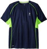U.S. Polo Assn. Men's Big-Tall Raglan Performance Mesh Feel Dry T-Shirt